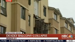Balcony Collapse Kills 5 Irish Citizens, Hurts 8 in Berkeley_ Police | NBC Bay Area