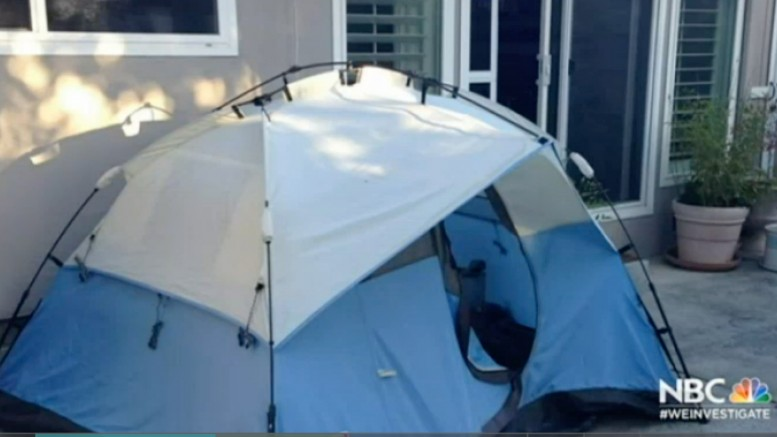 Camping Tent Rents at $900 a Month in Mountain View | NBC Bay Area-1