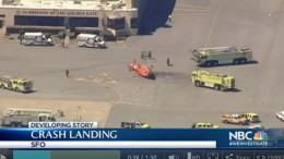 Coast Guard Chopper Crash Lands at SFO During Training Exercise | NBC Bay Area-1