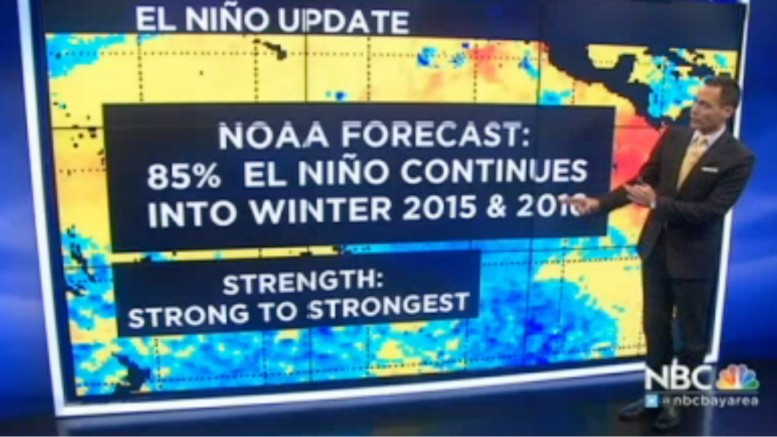 NOAA_ Strong Chance El Nino Will Continue Into Winter | NBC Bay Area
