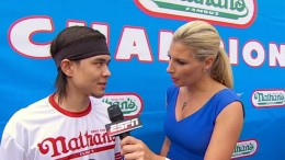 Matt Stonie upsets Joey Chestnut, wins Nathan_s Hot Dog Eating Contest
