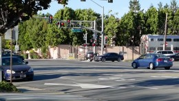 Accident South Mary Ave Caltrain crossing - YouTube