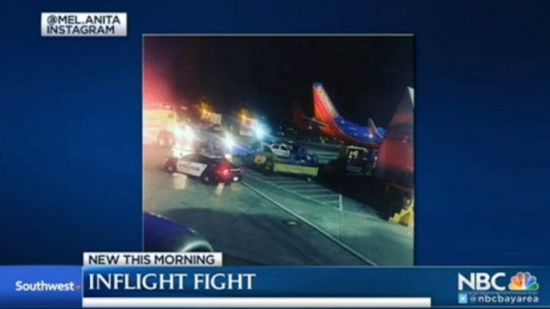 Southwest Passenger Allegedly Chokes Woman For Reclining in Seat_ Witness | NBC Bay Area
